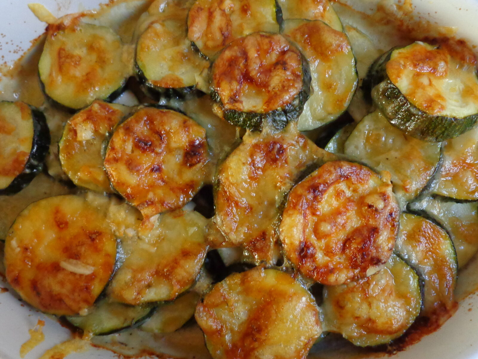 zucchini gratin the everyday french chef