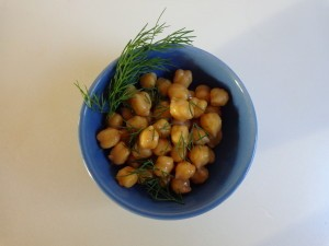 chick pea salad 1