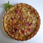 rhubarb peach tart1