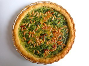 spinach pine nuts quiche4