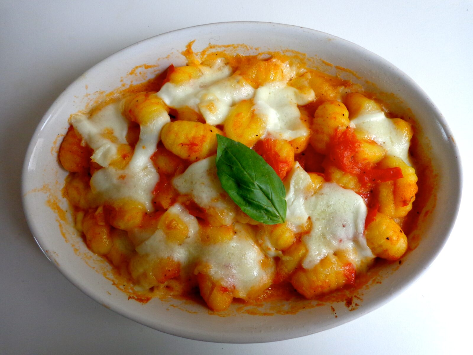 baked gnocchi with rustic tomato sauce the everyday french chef. Black Bedroom Furniture Sets. Home Design Ideas