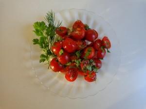 herbal tomato salad 1
