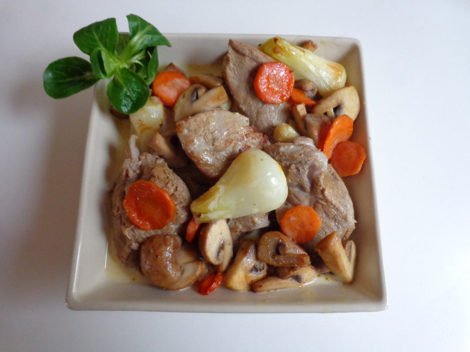 blanquette de veau the everyday french chef. Black Bedroom Furniture Sets. Home Design Ideas
