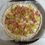 Leek bacon tart3