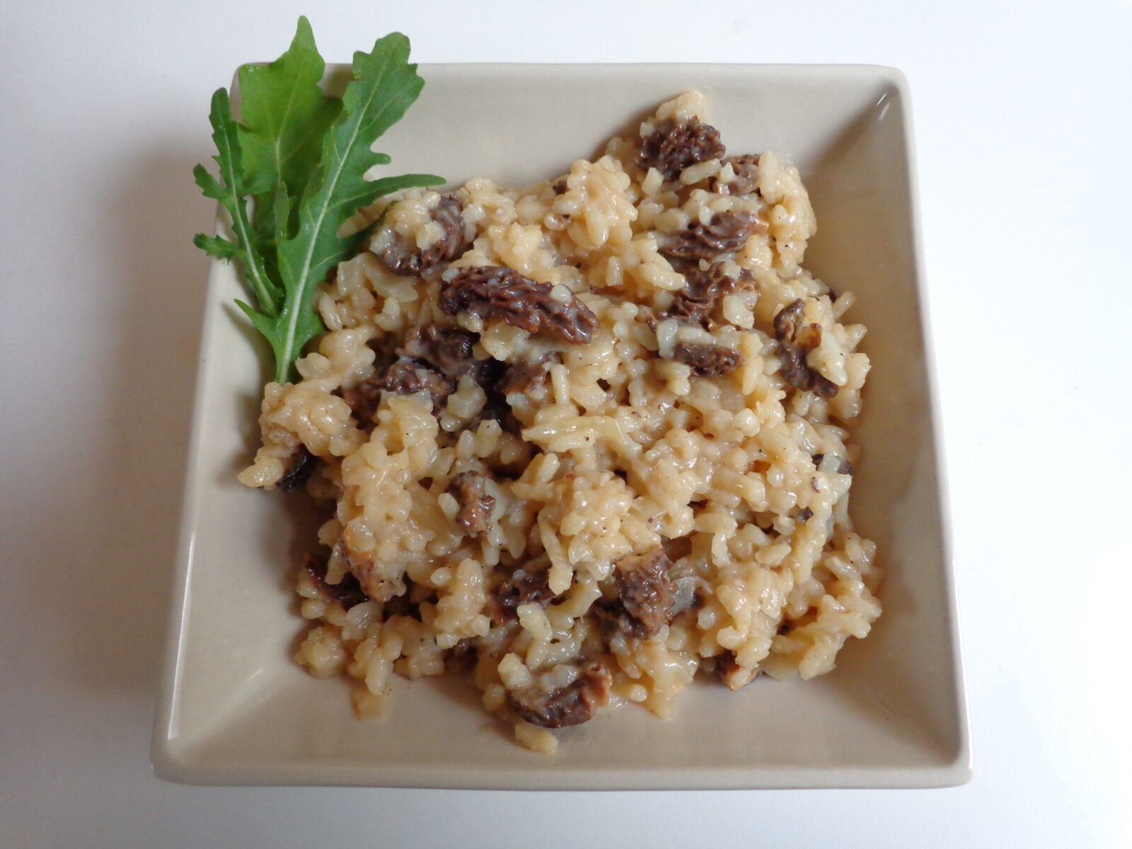 risotto aux morilles the everyday french chef. Black Bedroom Furniture Sets. Home Design Ideas