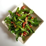 dandelion bacon salad1