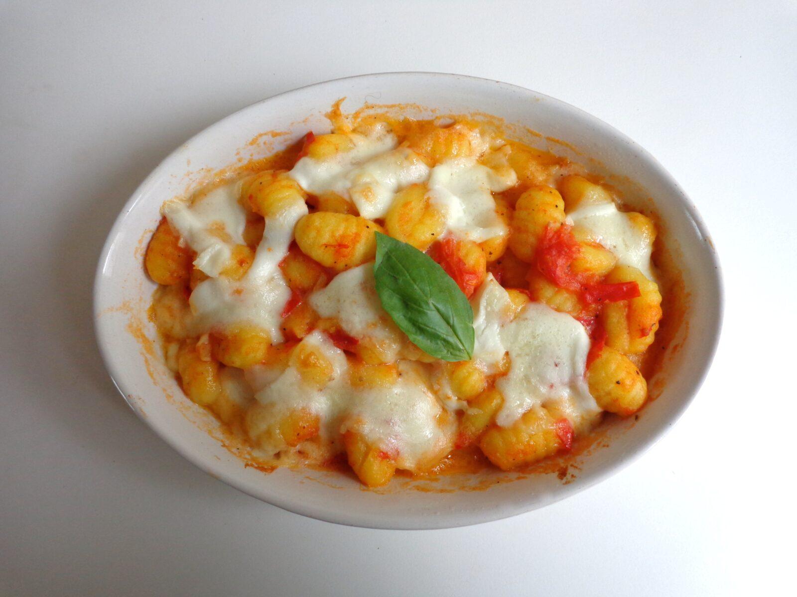 Potato Gnocchi Au Gratin photo